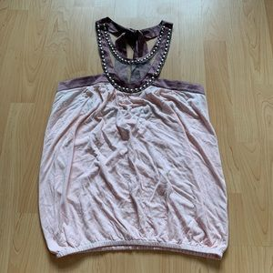FREE W PURCHASE Pink Marciano Top